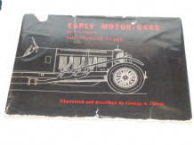 Early Motor-Cars . Second Series The Vintage Years (Oliver 1959)